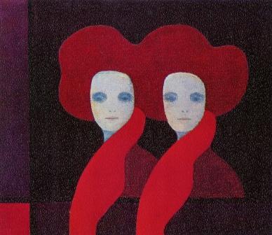 Francesca - olio su tela cm 70 X 60