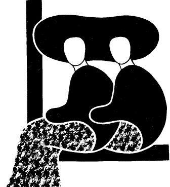 serigrafia in bianco e nero