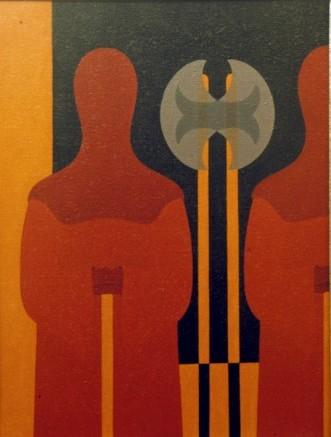 il Boia si ripete - olio su tela cm 50 x 70